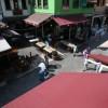 Bursa da tarihi Kayhan Çarşısı nda yangın