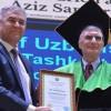 Nobel ödüllü bilim adamı Aziz Sancar a Özbekistan da fahri doktora