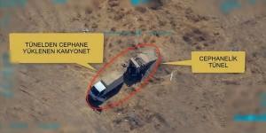 PKK PYD YPG li teröristlere mühimmat ikmali yapan kamyonet böyle vuruldu