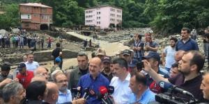 Trabzon da ölü sayısı 4 e yükseldi