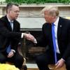 Trump Beyaz Saray da Brunson ı ağırladı