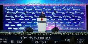 Hedefimiz Afrika ülkeleriyle ticaretimizi 75 milyar dolara taşımak