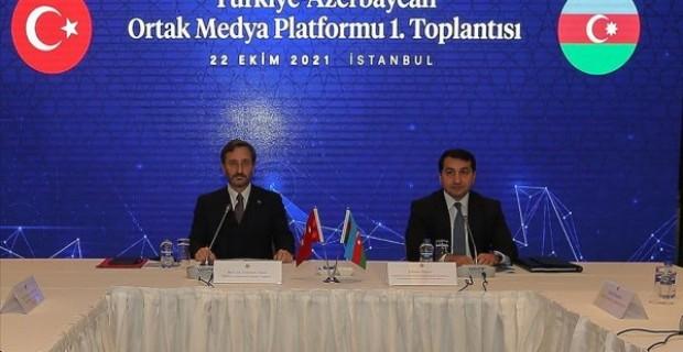 Türkiye Azerbaycan Ortak Medya Platformu nun ilk toplantısı yapıldı